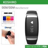 OLED Bluetooth Ritmo cardíaco Seguimiento de actividad de la salud