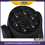 DJ que enciende la mini abeja Eye la pista móvil de 6X10W 4 in-1 LED