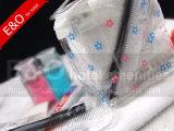 病院の快適さの忍耐強いキットPVC透過袋の化粧品袋