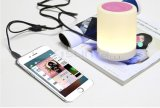 Portable Mini Smart LED ampoule Light Wireless Bluetooth Lamp Speaker avec poignée