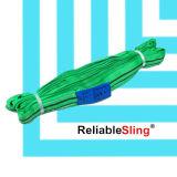 Tessitura del poliestere En1492-2 che alza l'imbracatura di sollevamento rotonda infinita
