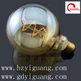 Spezielle silberne Glühlampe G125 der Schneeflocke-LED