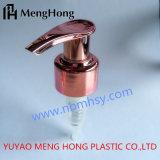 24/410 China fabrica a bomba de loção dourada rosa para selagem de garrafa