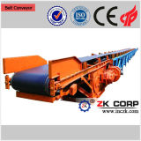 China Heat Resistance Belt Rubber Conveyor mit Low Price
