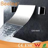 Verchroomd Messing 3 de Muur van PCs zet de Tapkraan van de Douche van het Bad van de Waterval van de Badkuip op