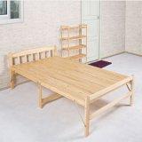 Singolo-Headed Foldable Wooden Bed per la camera da letto Furniture (WS16-0075, per dormire)