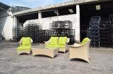 Jogo Selectional ao ar livre do sofá da mobília 3PCS do Rattan UV da resistência