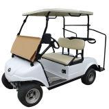 Carro de golfe com carrinho Del3022GS branco do Caddie