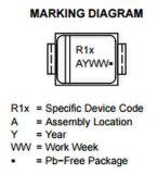 Superficie de componentes electrónicos Estándar de montaje rectificador de diodos