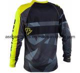 Sublimazione personalizzabile Jersey di colore giallo per lo sport di corsa (MAT97)