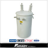 単一のPhase Wounded Core 11kv 415kv 15kVA Transformer