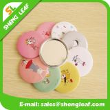 Home Single Face Tin Round Maquiagem Mini Mirror Products