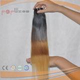 Tecelagem do cabelo da tecnologia nova da onda frouxa brasileira do cabelo humano a melhor