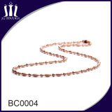Fashion 2.0mm Colored Metal Bead Chain Necklace for Cross Pendant