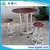 Night moderno Bar Truss Furniture Cocktail Bar Table com Bar Stool