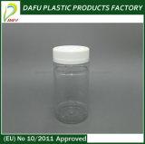 botella del plástico del claro del animal doméstico del cilindro 170ml