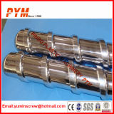 Belüftung-Extruder-Schraube und Zylinder