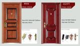 Porta de segurança Porta de metal Porta de entrada de porta de aço