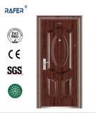 販売法の最もよい黒いクルミカラー鋼鉄ドア(RA-S086)