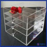 Organizzatore cosmetico acrilico dei cassetti del fornitore 4 della Cina