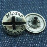 Rupture faite sur commande de boutons de bouton-pression en métal