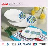 Jeux neufs de plaque de dîner de porcelaine de modèle de Chine d'os