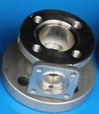 Pieza de la vávula de bola del OEM de los bastidores de la precisión del acero inoxidable (DN20)