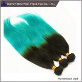 Capelli umani di trama di estensione dei capelli umani di due colori