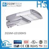 Venta Caliente 100 Watt Luminaria de Calle LED para Iluminación de Cuidad