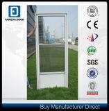 Fácil instalar a porta de tempestade de vidro permutável da meia vista