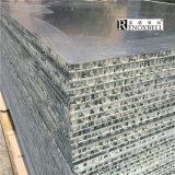 El panel de aluminio modificado para requisitos particulares del panal del color del mármol del diseño