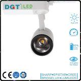 AluminiumunterbringenDimmable PFEILER LED Tracklight 20W Lampe LED CRI>90 80lm/W