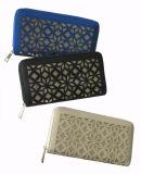 Отрезанный лазером бумажник PU плоского и двойного слоя материальный для повелительницы