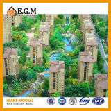 Modelos arquitectónicos de la exposición de los modelos de la escena de los modelos/de los modelos del edificio residencial/modelo de las ventas de las propiedades inmobiliarias