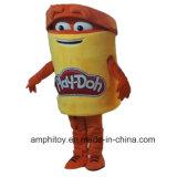 Traje personalizado traje da mascote dos desenhos animados da mascote do Jogo-Dó de Hasbro