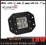 18W CREE LED Auto-Licht für nicht für den Straßenverkehr Jeep, LED-Arbeits-Licht
