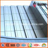 Panneau composé en aluminium du certificat PVDF d'OIN et de GV