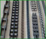 Chaîne de boîte de vitesses d'acier inoxydable de constructeur, chaîne duplex de rouleau d'acier inoxydable de lancement