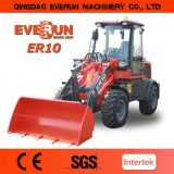 con Pallet Forks ER10 Minicargadora Made in China CE