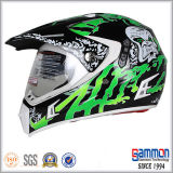 Профессиональный Shining черный шлем Motorcross (CR407)