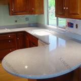 161215 passte festen OberflächenCorian weißen KücheCountertop an