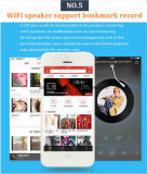 Mini altavoz de WiFi para el teléfono móvil