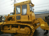 Bouteur utilisé hydraulique/de chenille Caterpillar de voie de tracteur (CAT-d6d) avec le ripper à vendre