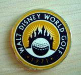 Custom esmalte suave Golf Club marcador de la pelota (GBM-16)