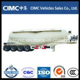 Camion-citerne de la colle des essieux Cimc 50ton 3/remorque de la colle/colle en bloc Bulker