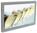 Moniteur lcd d'étalage de l'annonce TV d'affichage à cristaux liquides de bus/Coath de 18.5 pouces