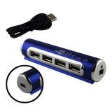 Batteriebetriebene Form 4 Portsd USB-Nabe für USB2.0
