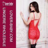 De Sexy Nachtkleding van de Lingerie van het ondergoed voor Dames (l28043-3)