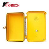 Телефон внутренной связи промышленный для аварийной ситуации Knsp-04 Kntech