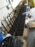 Galvanisiertes Überzug-Edelstahl-Schuh-Zahnstangen-System-Ausstellungsstand-Regal